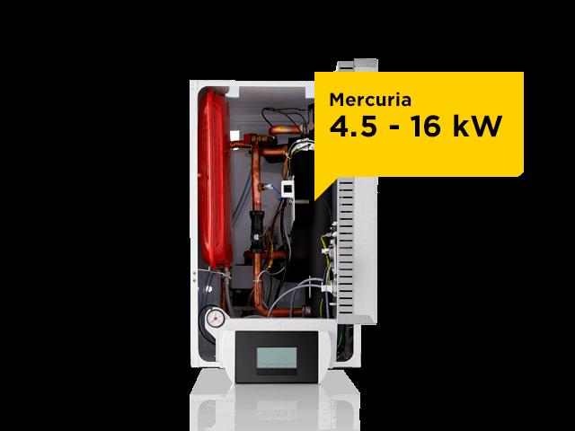 Mercuria - hybride warmtepomp