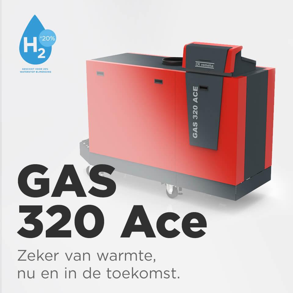 GAS 320 Ace - nieuwe producten utiliteit